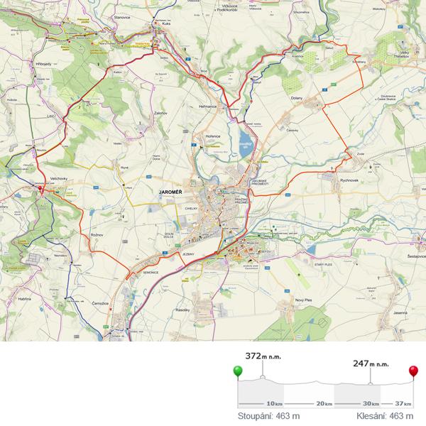 Trasa C35, cyklo (35 km)