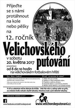 Plakát Velichovské putování 12. ročník (2017) - tisková kvalita, formát PDF